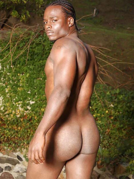 this in an image of a black male's ass nude